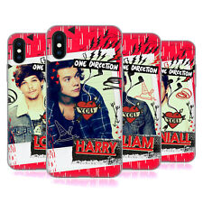 ONE DIRECTION 1D UFFICIALE FOTO COVER MORBIDA IN GEL PER APPLE iPHONE PHONES