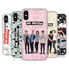 OFFICIAL ONE DIRECTION GROUP PHOTO DOODLE ICON GEL CASE FOR APPLE iPHONE PHONES