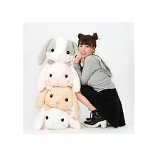 Kawaii Japan Anime Harajuku Tofu Mochi Lazy Rabbit Conejo Vago Gigante Giant Fun
