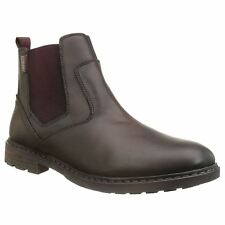 Pikolinos Caceres M9E-8094SP Olmo Mens Leather Chelsea Elasticated Ankle Boots