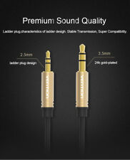 3.5mm Male to 2.5mm Male Audio Cable Câble adaptateur d'extension audio Z1A