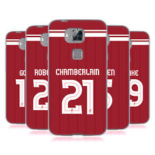 LIVERPOOL FC LFC GIOCATORI HOME KIT 17/18 2 CASE IN GEL PER HUAWEI TELEFONI 2