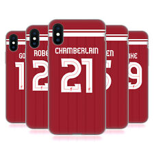 LIVERPOOL FC GIOCATORI HOME KIT 17/18 2 CASE IN GEL PER APPLE iPHONE TELEFONI