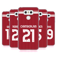 LIVERPOOL FC LFC GIOCATORI HOME KIT 17/18 2 CASE IN GEL PER LG TELEFONI 1