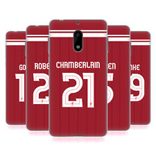 LIVERPOOL FC LFC GIOCATORI HOME KIT 17/18 2 CASE IN GEL PER NOKIA TELEFONI 1