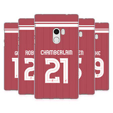 LIVERPOOL FC LFC GIOCATORI HOME KIT 17/18 2 CASE IN GEL PER XIAOMI TELEFONI