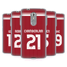 LIVERPOOL FC LFC GIOCATORI HOME KIT 17/18 2 CASE IN GEL PER ZTE TELEFONI