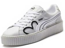 Puma Rihanna Fenty Creeper Clara Lionel Ltd White Black Leather Womens Trainers