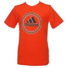 Tee shirt manches courtes Adidas Graphic rouge mc tee jr Rouge 50943 - Neuf