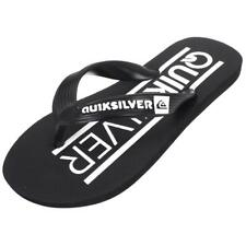 Tongs claquettes Quiksilver Java wordmark nr/blc jr Noir 79432 - Neuf