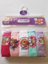 PAW PATROL GIRLS / boys 5 pairs knickers / briefs 18 - 23 + 2,3,4,5 years old