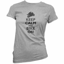 Keep Calm and Bike On - Donna / T-shirt da donna - MAXIMOTO - MOTO - S-XXL