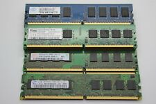 2 x 1GB DDR-2 RAM IN MATCHED PAIRS (PC2-6400U 667MHz & PC2-5300U 800MHz)