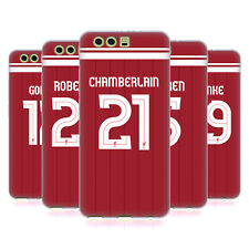 LIVERPOOL FC LFC GIOCATORI HOME KIT 17/18 2 CASE IN GEL PER HUAWEI TELEFONI