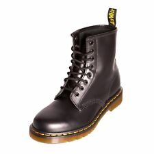 Dr Martens Unisex 1460 Classic Black Leather Lace Up Boot (11822006)