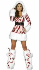 Top Totty Candy Cane Hooded Dress