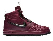 Nike Air Lunar Force 1 Winter DuckBoot Bordeaux Burgundy Red Black Trainer Boots