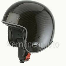 Casco Jet Airoh Garage Carbon Brillante