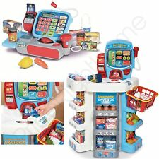 KIDS SUPERMARKET TILL & SELF-SERVICE SET BY CASDON SHOP PLAYING LITTLE SHOPPER