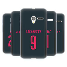 ARSENAL FC 2017/18 GIOCATORI KIT THIRD GRUPPO 2 CASE IN GEL PER ALCATEL TELEFONI