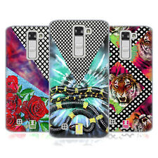 HEAD CASE DESIGNS TIE DYE AND MESH PRINTS SOFT GEL CASE FOR LG PHONES 2