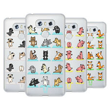 HEAD CASE DESIGNS ANIMALI DA YOGA COVER RETRO RIGIDA PER LG TELEFONI 1