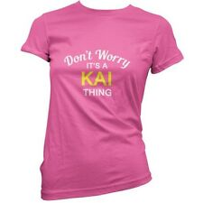 Don't Worry it's A Kai prenda! Mujeres/Camiseta Mujer - 11 Colores