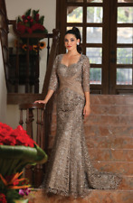Long Formal Dress Mother of the Bride Plus Size Evening Gown
