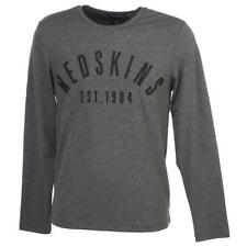 Tee shirt manches longues Redskins Doui anth ml tee Gris 25375 - Neuf