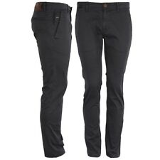 BOSS ORANGE Pantalón Chino Hombre Slim Fit Negro schino SLIM1 50248964 001