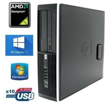 PC HP 6005 Pro SFF AMD CONFIGURATIONS MULTIPLES