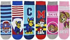"enfants OFFICIEL Paw Patrol "" Marshall,CHASSE & Skye "" Chaussettes PERSONNAGE"