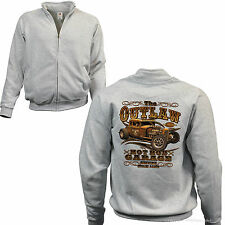 Felpa con zip sweatshirt Auto Sportiva d'EPOCA AUTOMOBILE rockabilly-kustom RAT