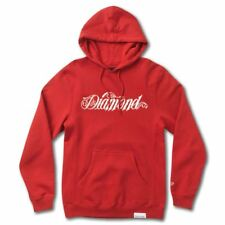 Diamond Supply Co Giant Script Hoodie Red