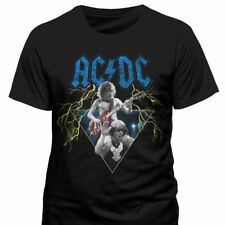 AC/DC - Angus & Brian T Shirt Size:S,L - NEW & OFFICIAL