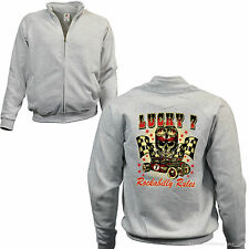 Felpa con zip sweatshirt ROCKABILLY AUTO SPORTIVA Kustom Speed Shop 1103