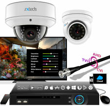 2 zxtech Cámara AHD AVI DVR Gran Resolución Moderno I IR 2-mp 2.8-12mm