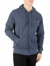 The North Face Uomo Felpa con cappuccio con logo, Blu