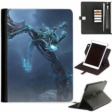 Drago a fantasia LUSSO Apple iPad 360 girevole pelle custodia con slot per