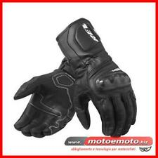 Guanti Moto Pelle Revit Sportivi Rev'it RSR 3 carbonio Nero Black