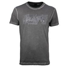 G-Star Raw T Camiseta Cuello Redondo Negro Gris Most regular fit d04183 8653 990