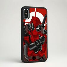 Deadpool Anti Hero Superhero Silicone Phone Case Cover for iPhone Marvel Comics