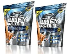 Muscletech 100% Whey Protein + Muscle Building & Recovery BCAA 2.7kg & FREE 1lbs