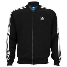 ADIDAS ORIGINALS SUPERSTAR TT TRACK TOP HERREN TRAININGS JACKE FIREBIRD SCHWARZ