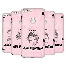 OFFICIAL ONE DIRECTION TEXT ILLUSTRATION FACES HARD BACK CASE FOR GOOGLE PHONES