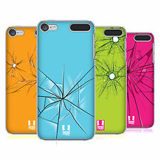 HEAD CASE DESIGNS SHATTERED HARD BACK CASE FOR APPLE iPOD TOUCH MP3