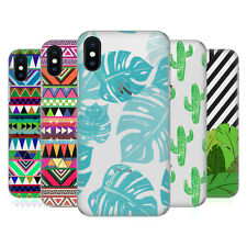 OFFICIAL BIANCA GREEN PATTERNS HARD BACK CASE FOR APPLE iPHONE PHONES