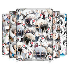 OFFICIAL ONE DIRECTION 1D BUTTON PINS HARD BACK CASE FOR APPLE iPAD