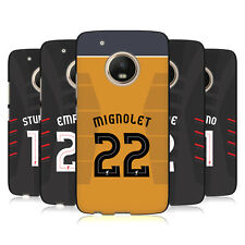 LIVERPOOL FC GIOCATORI AWAY KIT 16/17 1 COVER IN GEL NERA PER MOTOROLA TELEFONI