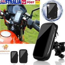 Motorcycle Bike Handlebar Holder Mount Waterproof Bag Case for Phone GPS BU